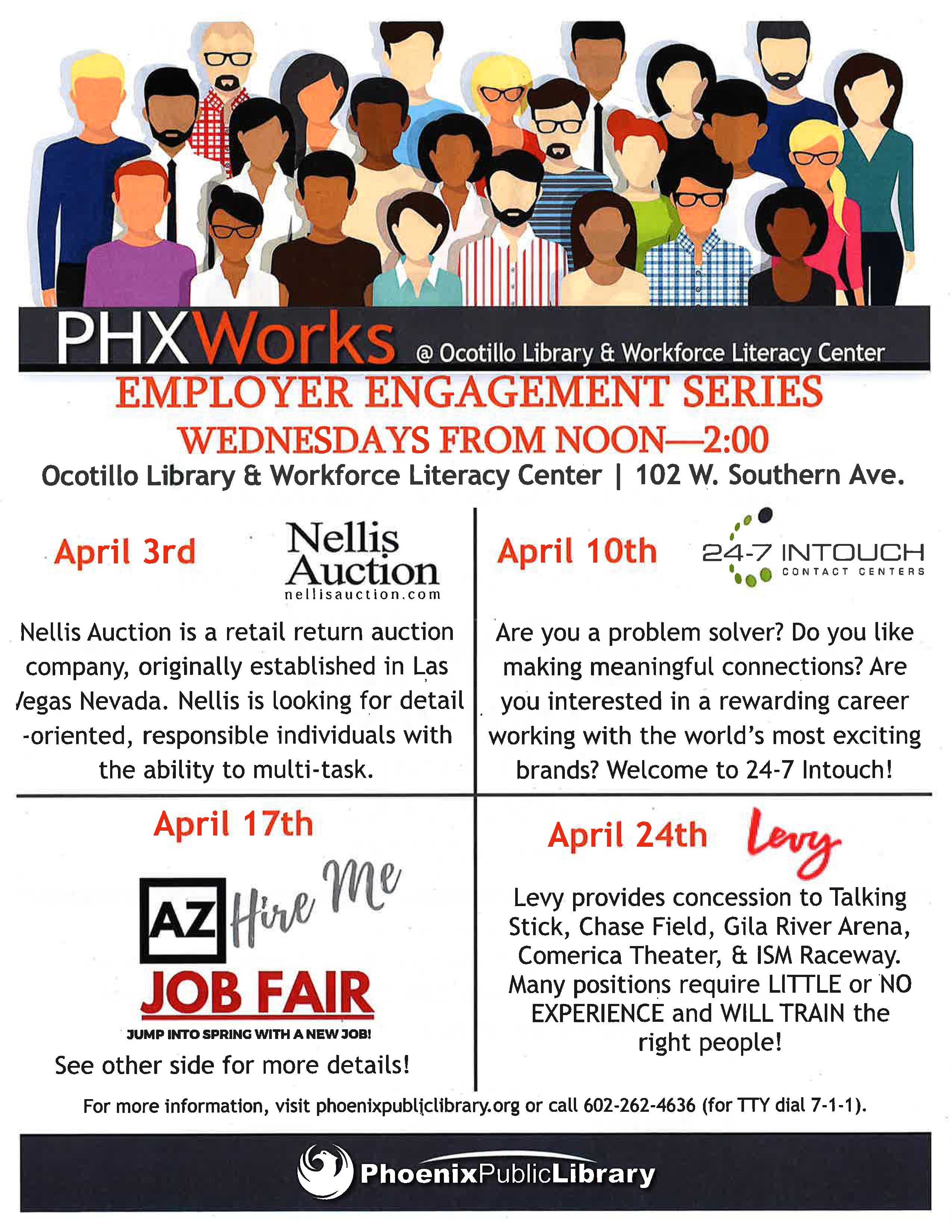 PHX Works Employer Engagement Series – Levy – TOD